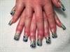 Seahawks Nails.