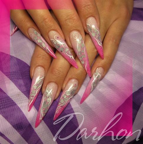 pink n' silver