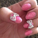 Pink Glitter And Charms
