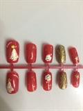 Red Xmas Nails