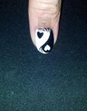Full nail Yin Yang