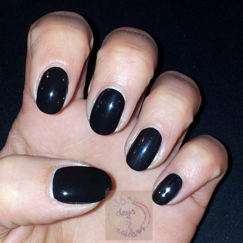 Paint your nails black