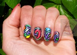 Nail art Graffiti