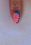 Nail art fan