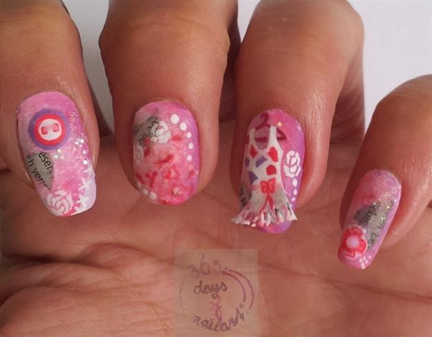 Scrapbook nails