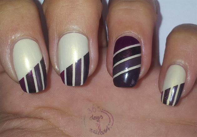 Abstract fall nails
