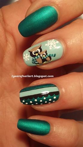 Cute owls (winter themed)