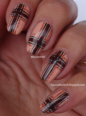 Tweed Nails Nail Art Gallery