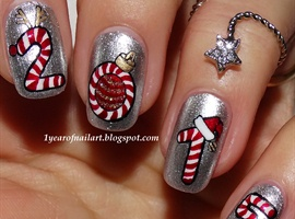 Four Candy Cane
