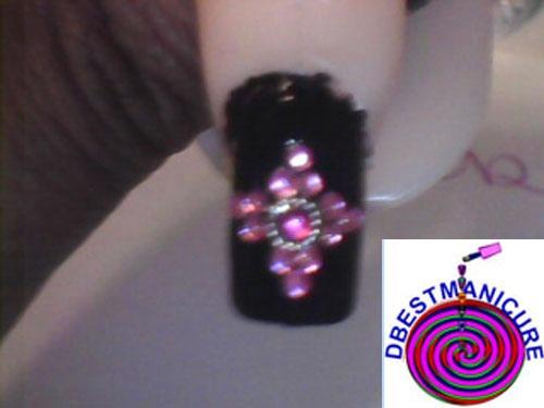 Royalty nail design