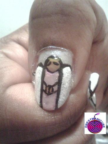 Angel Nail art