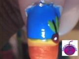 Fruit Punch nail art