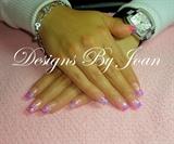 Pink purple lightblue