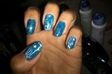 under sea/ocean nails