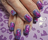 Gelish with Foil