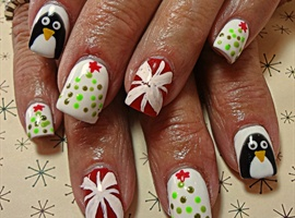 nail art: Under the Tree