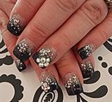 Glittery Black
