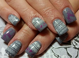 nail art: Holiday Sweaters