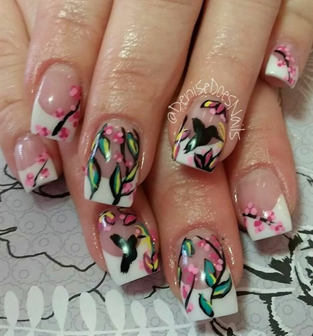 Hummingbirds Nail Art Gallery