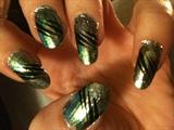 painted foil:)