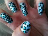 blue leopard:)