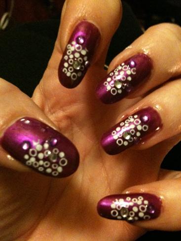 konad with gems:)