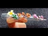 3d acrylic flowers