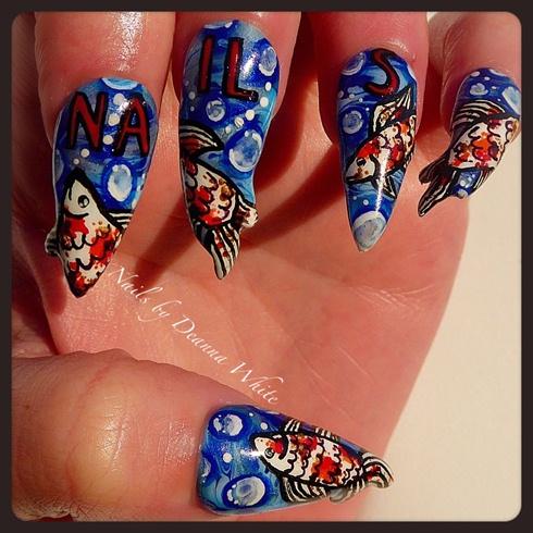 "Nails NTNA Pre Challenge ""Cover Artist"""