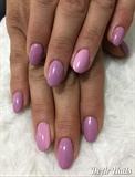 Pink/ Purple Nails