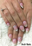 French Bridal Nails