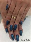 Matte Shimmer Nails