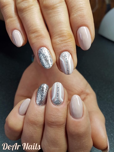 Nail Design On Nude Nails
