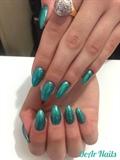 Mermaid Almond Nails 🧜♀️