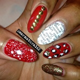Mixed Nail Art