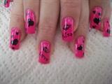 Hot pink valentine!