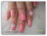 Girly Pink Cupcakes