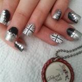  Black and silver  - monochrome