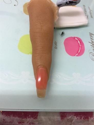 Polygel Nailed It On My Freaky Finger