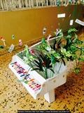 Piano Nail Art Display