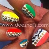 neon tribals