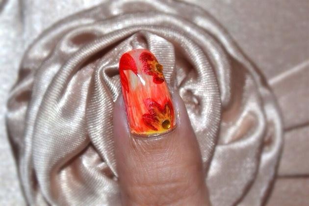 Autumn Glow Nails