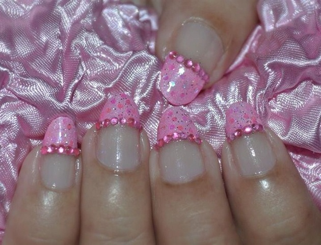Barbie Nail Art