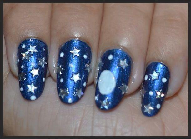 Christmas Night Sky / Blue Christmas