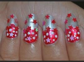 Christmas Party Nail Art / Holiday Nails
