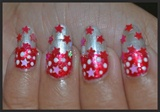 Christmas Party Nail Art / Holiday Nails