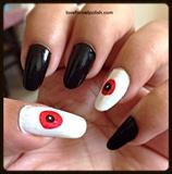 Vampire Eyes for Halloween