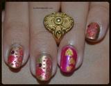 Valentine Nail Hearts