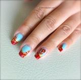Flower Nails for Spring