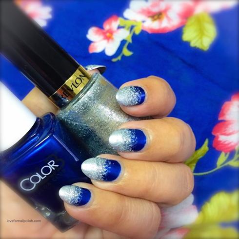 Blue Silver Gradient