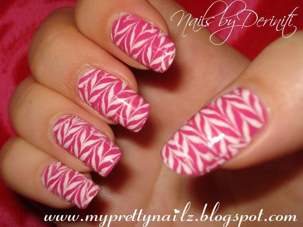 Pink & White Ziggy